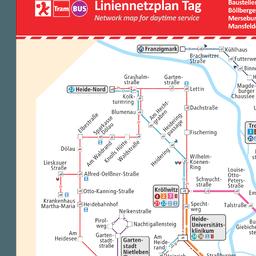 Straßenbahn halle plan